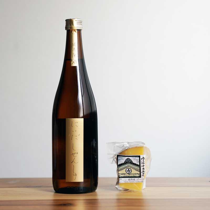 純米原酒Cheese-800