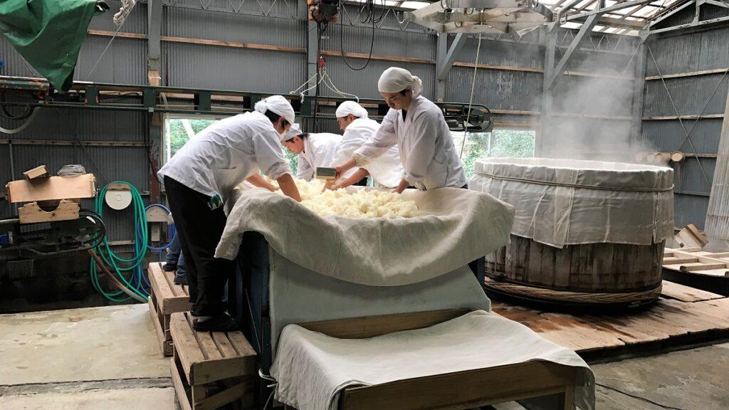 木戸泉製麹